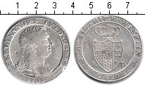 Изображение Монеты Сицилия 120 гран 1805 Серебро XF