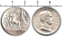 Изображение Монеты Италия 1 лира 1917 Серебро XF Витторио Имануил III