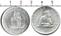 Изображение Монеты Италия 100 лир 1988 Серебро UNC-