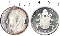 Изображение Монеты Ватикан 500 лир 0 Серебро Proof-