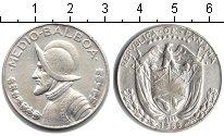 Изображение Монеты Панама 1/2 бальбоа 1968 Серебро XF