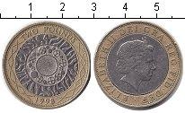 Изображение Монеты Великобритания 2 фунта 1998 Биметалл  Елизавета II.