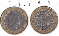 Изображение Монеты Великобритания 2 фунта 1999 Биметалл XF Елизавета II.