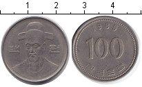 Изображение Мелочь Южная Корея 100 вон 1985 Медно-никель XF