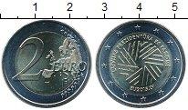 Изображение Мелочь Латвия 2 евро 2015 Биметалл UNC Председательство в Е