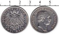 Изображение Монеты Саксония 2 марки 1906 Серебро UNC- Фридрих Август