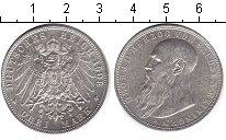 Изображение Монеты Саксен-Майнинген 3 марки 1908 Серебро XF Георг II