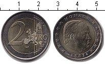 Изображение Монеты Монако 2 евро 2003 Биметалл UNC- Князь Ренье III