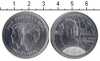 Изображение Монеты Испания 12 евро 2006 Серебро UNC- Христофор Еолумб