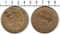 Изображение Монеты Вестфалия 50000000 марок 1923 Медь  Фон Штейн.