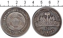 Изображение Монеты Гаити 50 гурдов 1977 Серебро XF