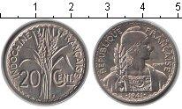 Изображение Мелочь Индокитай 20 центов 1941 Медно-никель XF