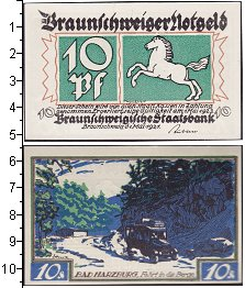 Изображение Банкноты Германия : Нотгельды 10 пфеннигов 1921  XF