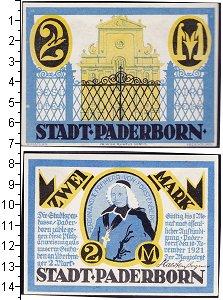 Изображение Банкноты Германия : Нотгельды 2 марки 1921  XF