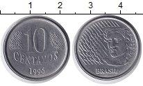 Изображение Барахолка Бразилия 10 сентаво 1996 Железо XF