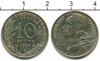 Изображение Дешевые монеты Франция 10 сантим 1993 Медь XF