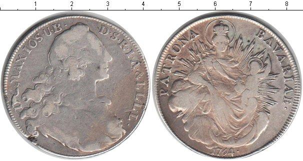 Картинка Монеты Бавария 1 талер Серебро 1764