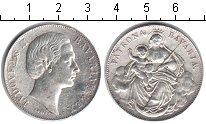 Изображение Монеты Бавария 1 талер 1865 Серебро VF Ремонт