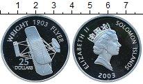 Изображение Монеты Соломоновы острова 25 долларов 2003 Серебро Proof-