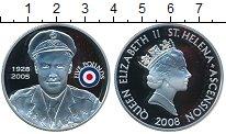 Изображение Монеты Остров Святой Елены 5 фунтов 2008 Серебро Proof-