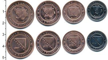 Изображение Наборы монет Босния и Герцеговина Босния и Герцеговина  2007-2013 0  UNC- В наборе 4 монеты но
