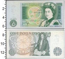 Изображение Боны Великобритания 1 фунт 0  UNC-