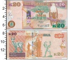 Изображение Боны Замбия 20 квач 0  UNC-