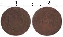 Изображение Монеты Франфуркт 1 пфенниг 1819 Медь VF Нотгельд