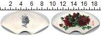 Изображение Монеты Острова Кука 5 долларов 2008 Серебро Proof- цветок