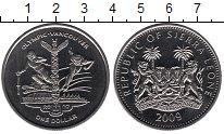 Монета Сьерра-Леоне 1 доллар Медно-никель 2009 UNC фото