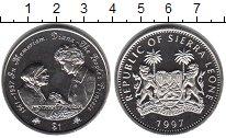 Изображение Мелочь Сьерра-Леоне 1 доллар 1997 Медно-никель UNC- Памяти принцессы Диа