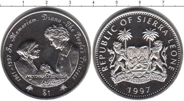 Картинка Мелочь Сьерра-Леоне 1 доллар Медно-никель 1997