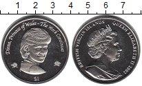 Изображение Мелочь Виргинские острова 1 доллар 2002 Медно-никель UNC- Принцесса Диана