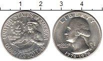Изображение Мелочь США 1/4 доллара 1976 Серебро UNC-