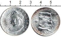 Изображение Монеты Италия 500 лир 1991 Серебро XF 500-летие открытия А