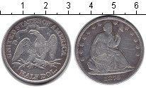 Изображение Монеты США 1/2 доллара 1876 Серебро XF