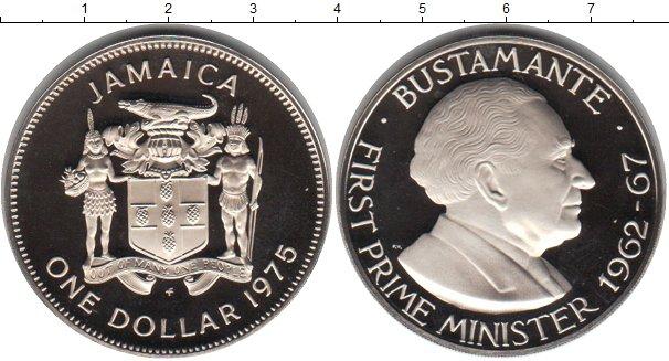 Картинка Монеты Ямайка 1 доллар Медно-никель 1975