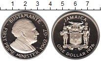 Изображение Монеты Ямайка 1 доллар 1976 Медно-никель Proof- Премьер министр Буст