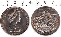 Изображение Монеты Новая Зеландия 1 доллар 1970 Медно-никель XF Гора Кука