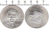 Изображение Монеты США 1 доллар 1998 Серебро UNC