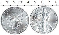 Изображение Мелочь США 1 доллар 2016 Серебро UNC