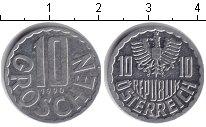 Изображение Барахолка Австрия 10 грош 1990 Алюминий XF