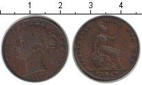 Изображение Монеты Великобритания 1 фартинг 1954 Медь VF