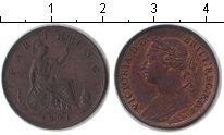 Изображение Монеты Великобритания 1 фартинг 1891 Медь XF
