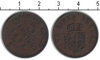 Изображение Монеты Пруссия 3 пфеннига 1873 Медь XF