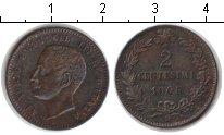 Изображение Монеты Италия 2 сентесимо 1905 Медь XF