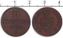 Изображение Монеты Саксен-Альтенбург 2 пфеннига 1852 Медь