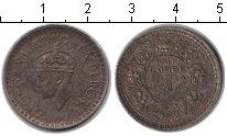 Изображение Монеты Индия 1/2 рупии 1944 Серебро XF Георг VI