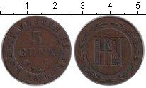 Изображение Монеты Вестфалия 5 сантимов 1809 Медь VF