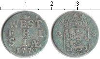 Изображение Монеты Нидерланды 2 стивера 1770 Серебро  Западная Фризия.